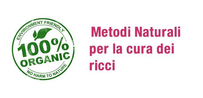 Metodi naturali per curare i capelli ricci