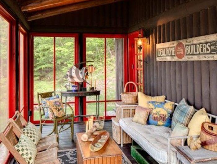 1001 Idees Pour Votre Terrasse Couverte Les Realisations Astucieuses Home Decor Outdoor Decor Patio