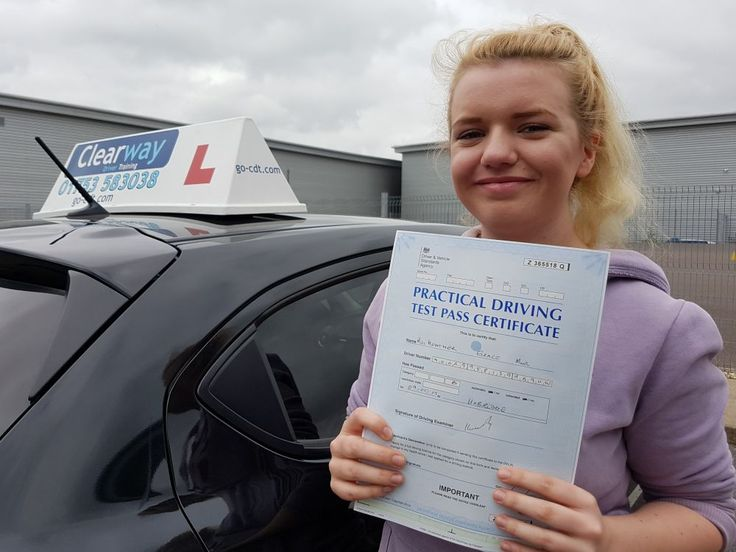 Heather from Slough passed her driving test first time at Uxbridge Driving Test Centre in Middlesex in May 2017 after taking a course of driving lessons with Clearway Driver Training driving instructor Peter Fearon.