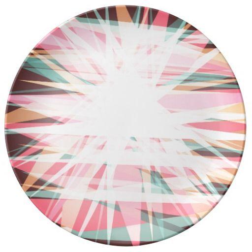 spring pattern porcelain plates
