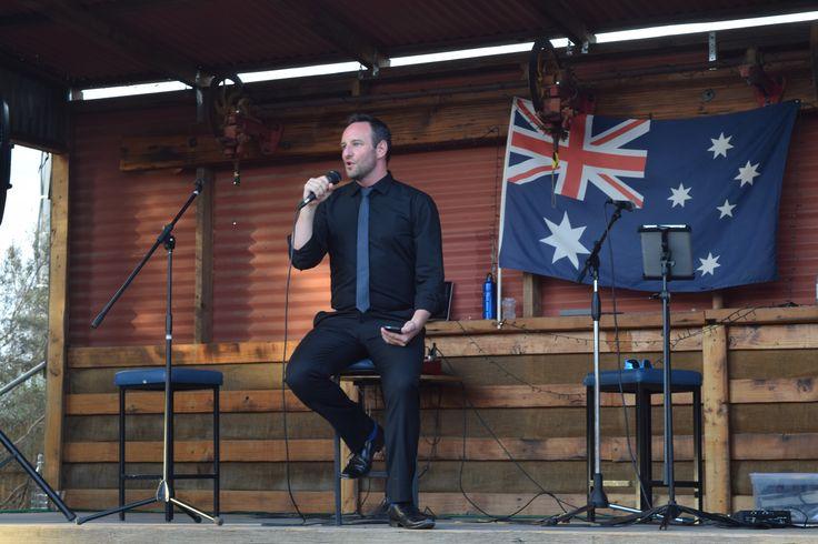 Brad Cooper - Tenor.   Arias in the Outback.    Silverton Hotel 6.12.2015