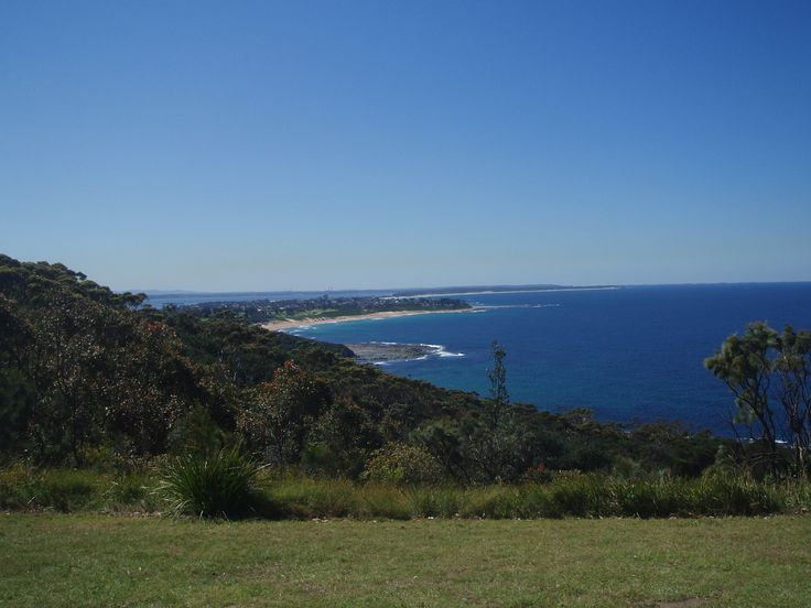A beautiful view from Crackneck Lookout, Bateau Bay.