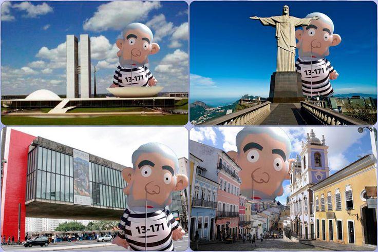 Lula 13-171: O Personagem do 16 de Agosto ➤ http://noticias.uol.com.br/politica/ultimas-noticias/2015/08/16/boneco-inflavel-de-lula-usado-em-protesto-vira-meme.htm ②⓪①⑤ ⓪⑧ ①⑧ #ILoveLula #LulaInflado