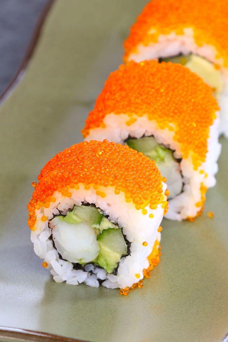 Boston roll sushi recipe recipe in 2020 sushi roll
