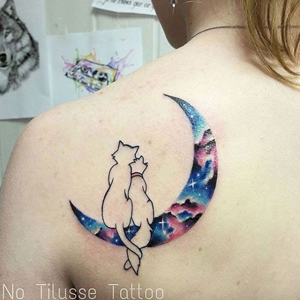Aristocats on the moon by No Tilusse