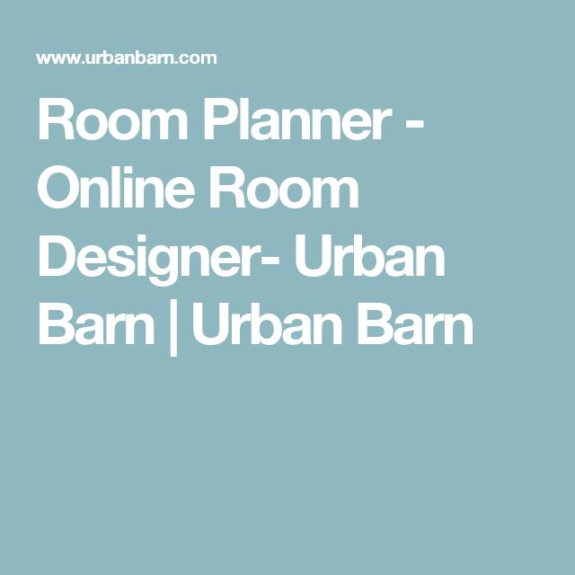 Room Planner   Online Room Designer  Urban Barn ...