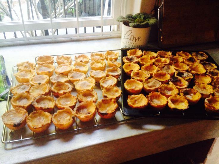 Pasteis de nata - Portuguese custard tarts   Finding Me Home