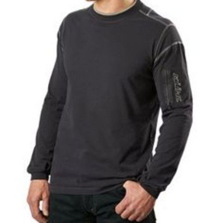 Kuhl Kommando Crew Neck Longsleeve in Carbon or Espresso on frostshoes.com or in Downtown Traverse City