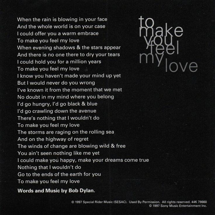 Bob Dylan Lyrics True Love Tends To Forget Cinemas 93