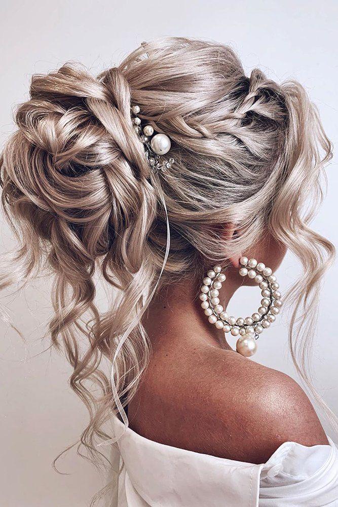 39 Best Pinterest Wedding Hairstyles Ideas Wedding Forward Wedding Hair Inspiration Medium Length Hair Styles Long Hair Styles