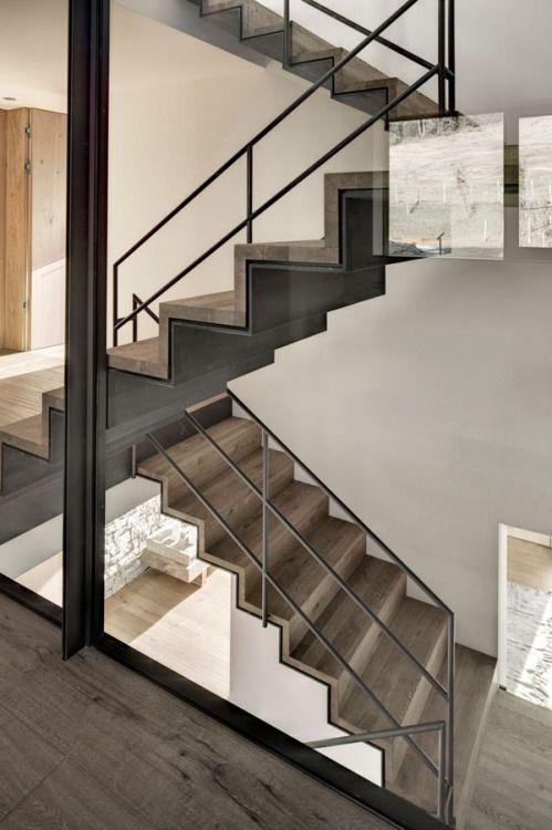 Stairs : Haus Wiesenhof #arquitectura