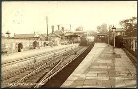 Camborne Station, photo by E A Bragg