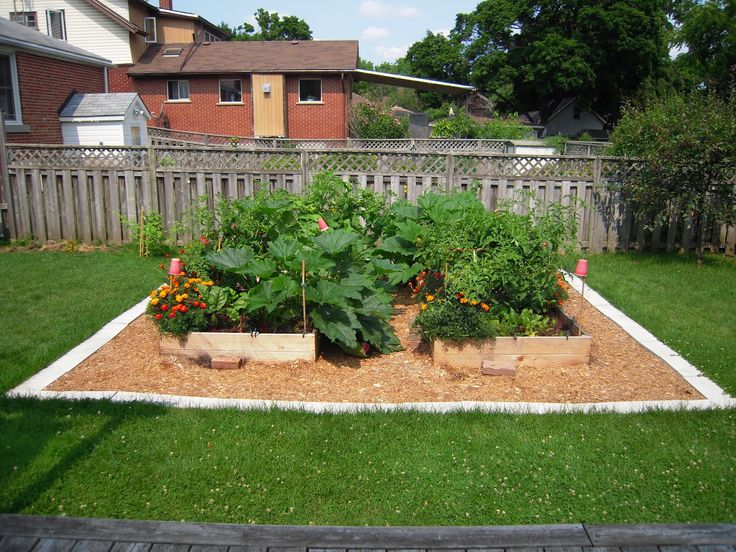 Red Four Forty Two Raised beds