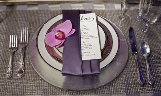 I like this napkin  - folded this way