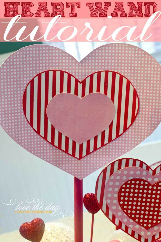 1523 best DIY Valentine\'s Day Party Ideas images on Pinterest ...