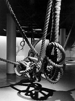 Magdalena Abakanowicz, 'Installation of Ropes', 1970