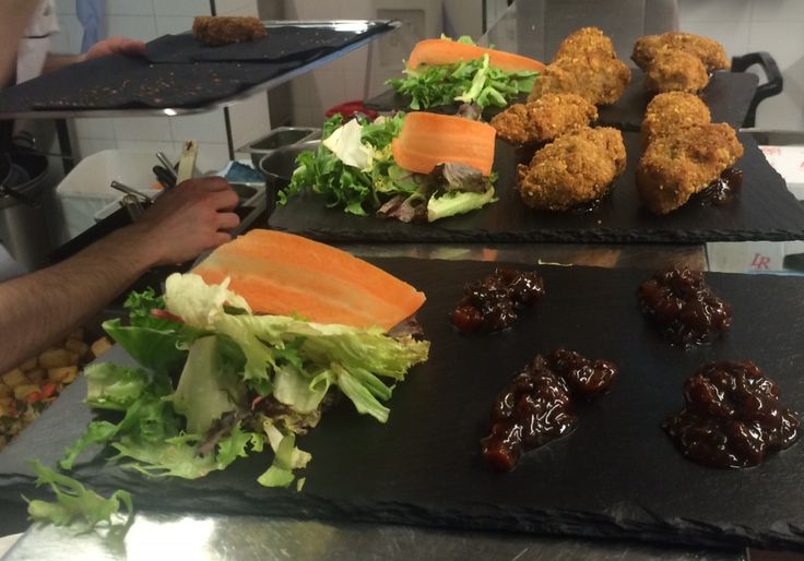 Avocado Croquettes - are included in our #gourmet treats and dishes from our #Gala #Dinner.  http://www.thequeensgatehotel.com