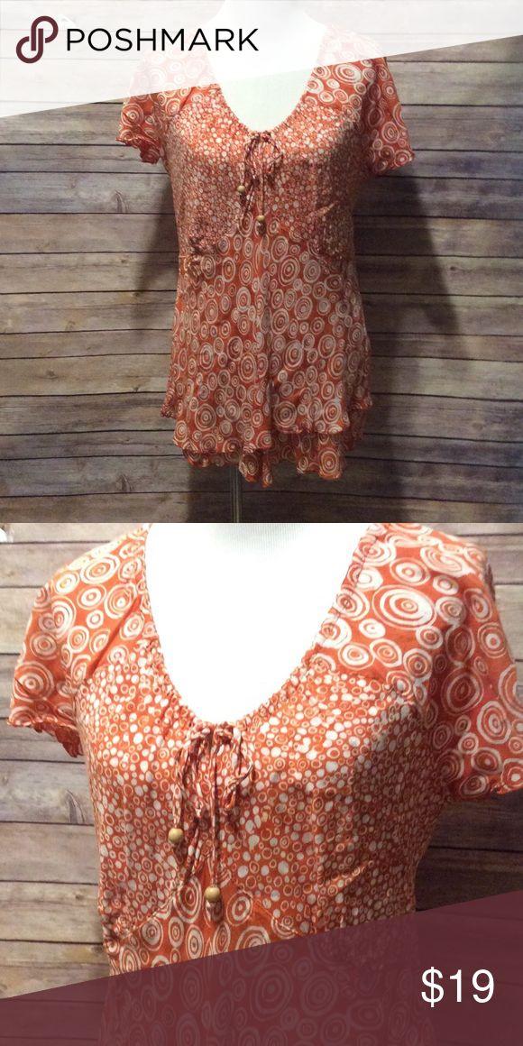 Orange Blouse Pinterest 19