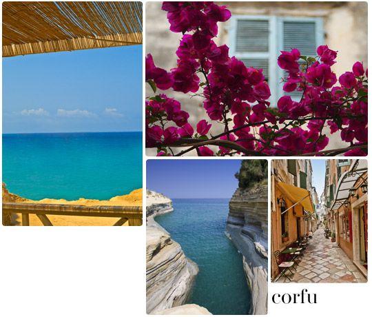 Corfu's sceneries