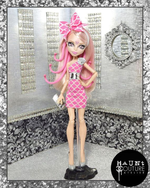 Monster Doll Gorgon Chic fierce high by HauntCoutureAtelier