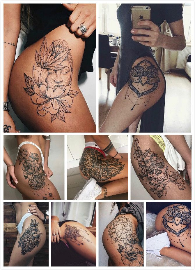 Sexy Butt Tattoos