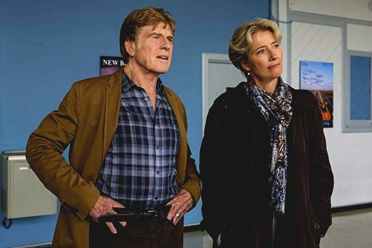 A Walk In The Woods With Emma Thompson Robert Redford Emma Thompson Into The Woods Movie