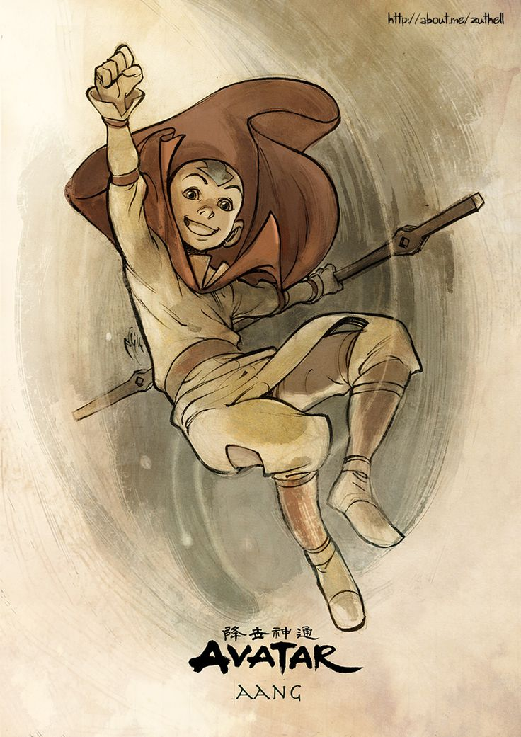 AVATAR COLLECTION 01 - Aang by MarcelPerez.deviantart.com on @DeviantArt