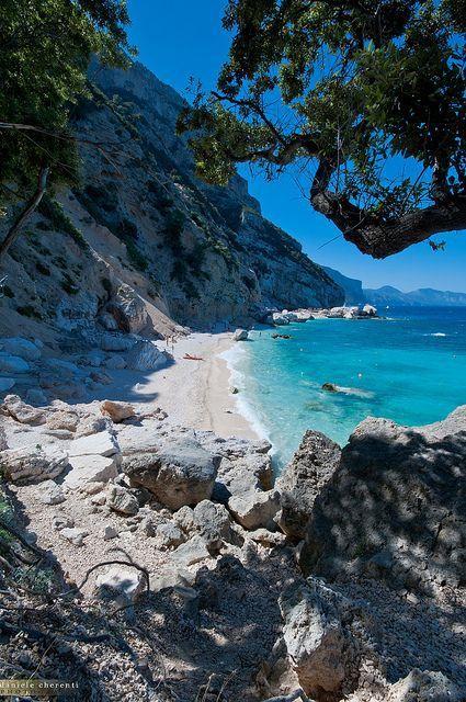 Rocky Beach, Sardinia, Italy photo via international - Blue Pueblo