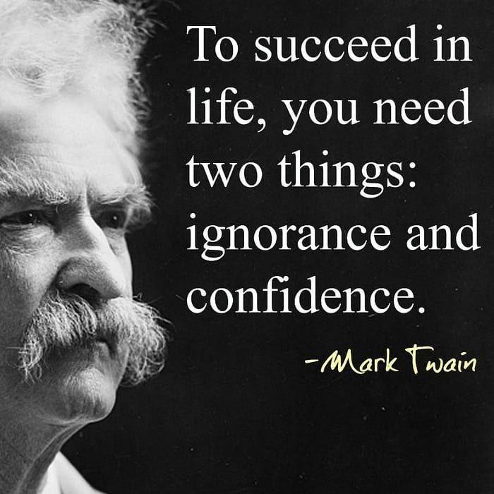 Marktwain Mark Twain Zitate Selbstvertrauen Zitate Und