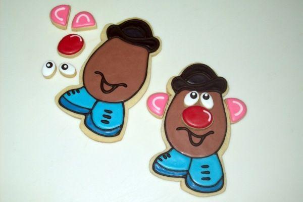 Mr. Potato Head Cookies