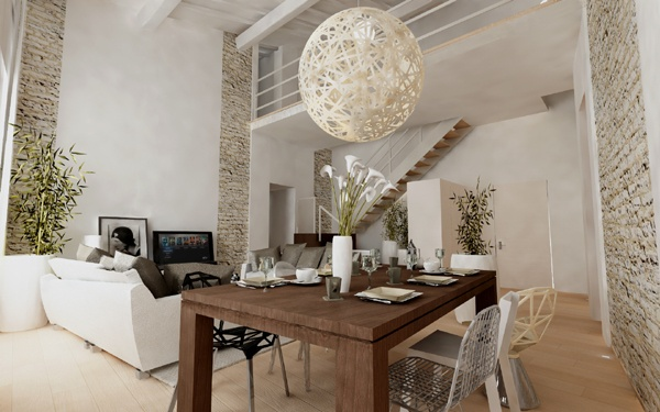 Renovation of an historical palace in the city centre of Lucca - Apartment n.3