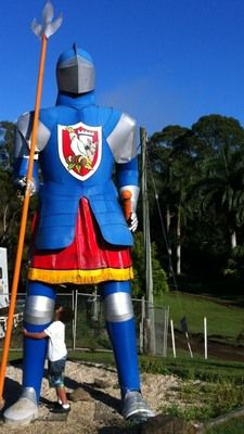 The Macadamia Castle near Byron Bay. Great place to visit with kids. Lots to see and do.