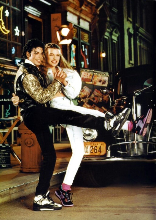 Michael Jackson and Milla Jovovich for LA Gear 1990. Michael Jackson   ~You Can Do It 2. http://www.zazzle.com/posters?rf=238594074174686702