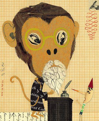 Fanelli, Sara: Pinocchio book, Monkey Judge