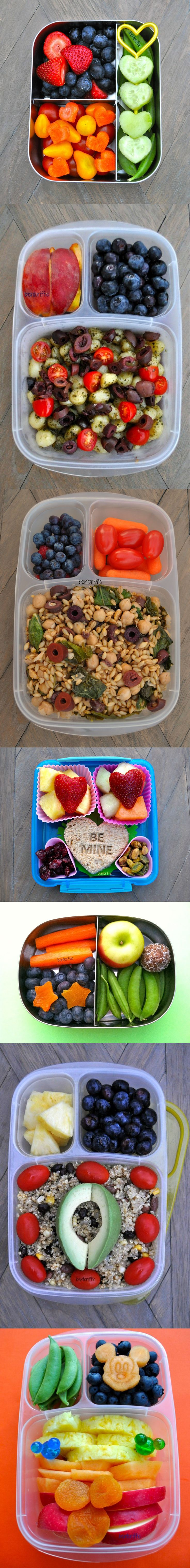 Healthy bento/lunch box inspiration