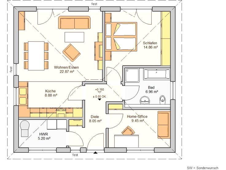 Bungalow Grundrisse 200 Qm Grundriss bungalow, Grundriss