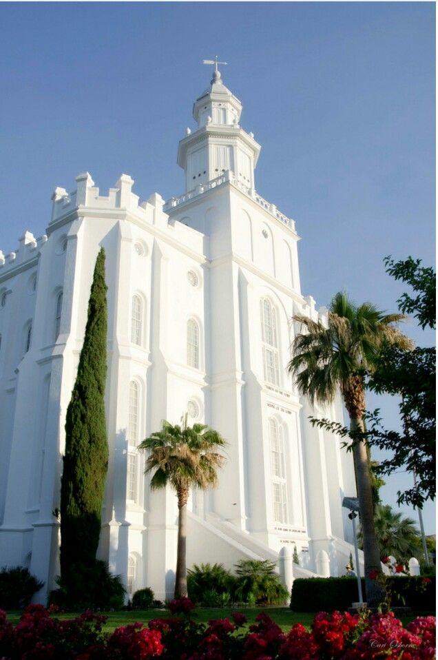 St. George LDS Temple ~ Photography by Cari Osborne