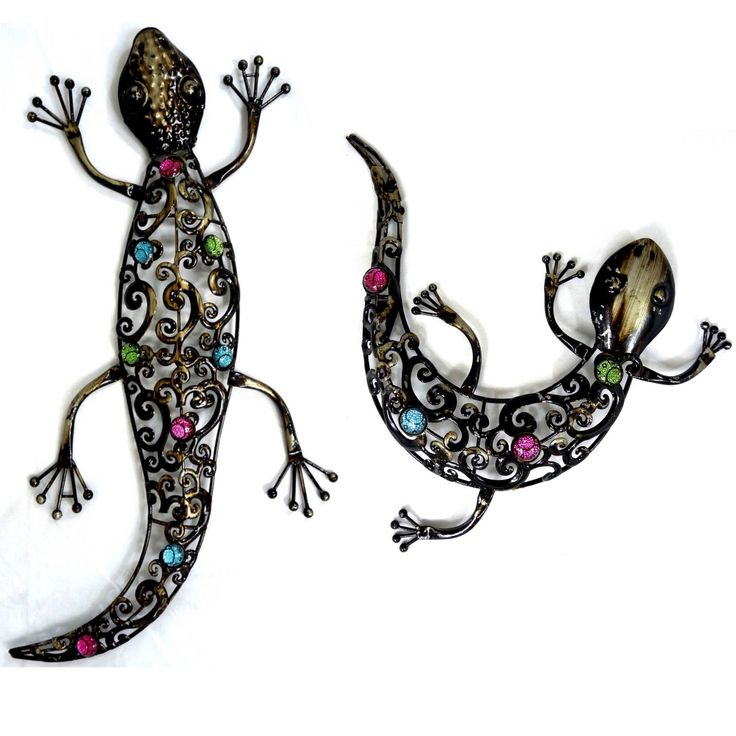 Dark Metal Wall Art Hanging Gecko Garden Pinterest Gardens Home And Me