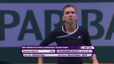 We have our combatants - Serena Williams vs Simona Halep, live now from the WTA Finals Singapore  Tune in on www.livetennis.com/category/live-streams/ and watch along with us