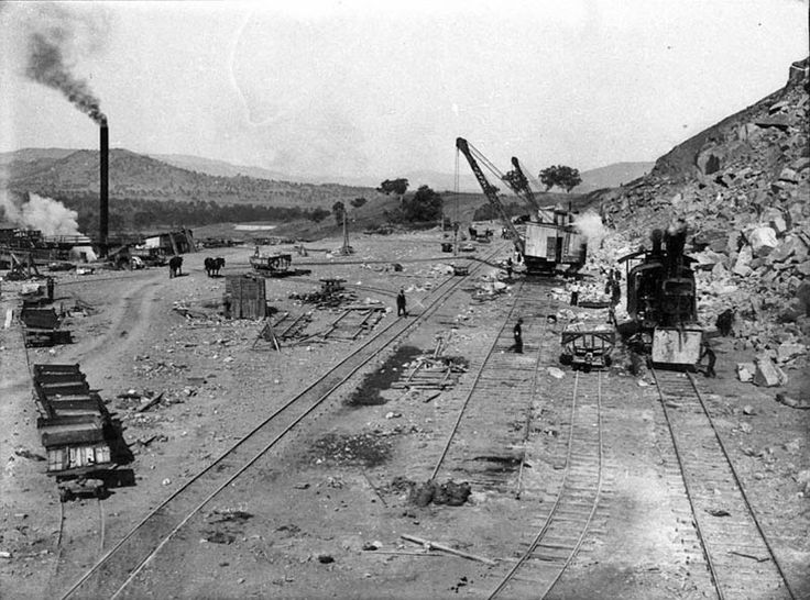 Hume Weir Steam Navvie at the Quarry