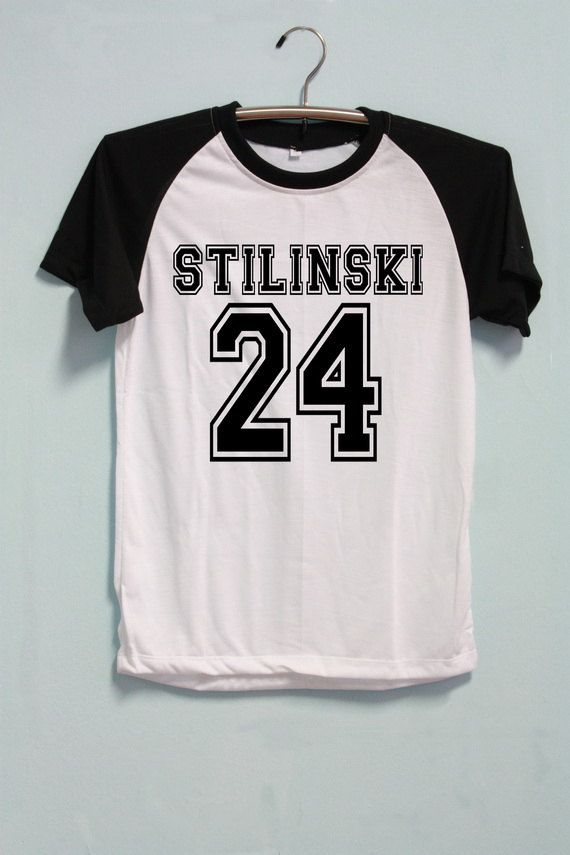 Stiles Stilinski Shirt Teen Wolf Shirt Short Sleeve by CrazyTop