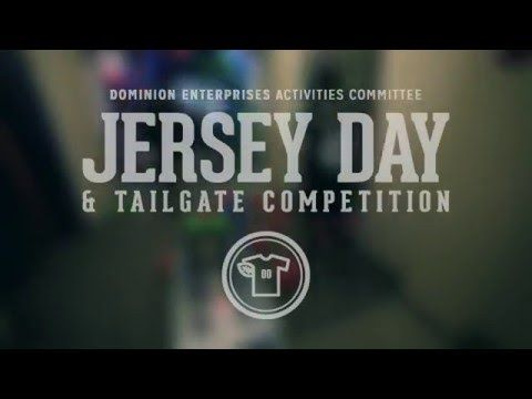 Jersey Day & Tailgate Competition