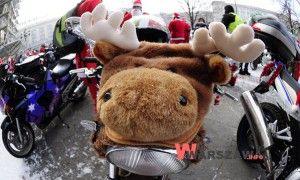 Przez Warszawę przejedzie wielka parada Mikołajów na motocyklach