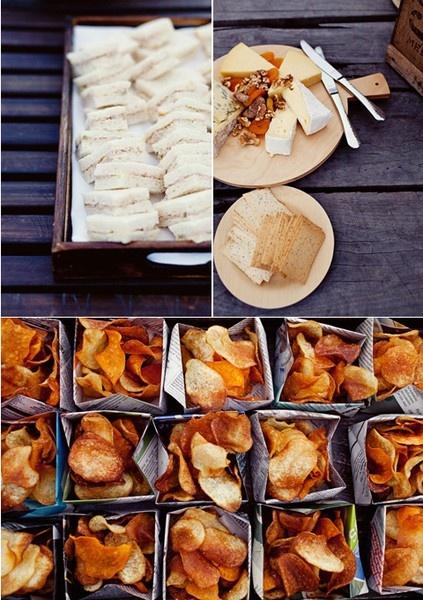 Chip Bags!. #summer #picnic #idea