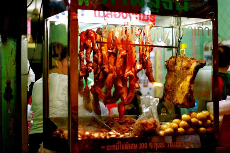 Street food Silom Road - Bangkok ...