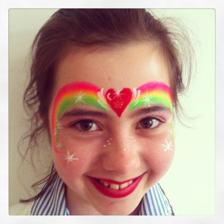 Face Painting Rainbow | www.pixshark.com - Images ...