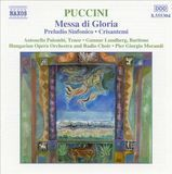 Puccini: Messa di Gloria; Preludio Sinfonico; Crisantemi [CD], 08402370