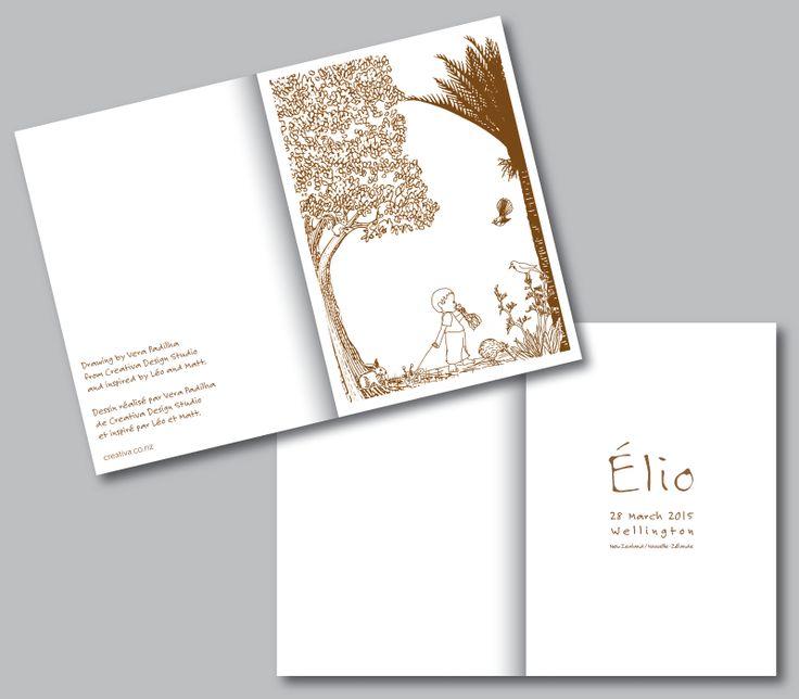 Illustration Card Design - Custom #Illustration #GraphicDesign