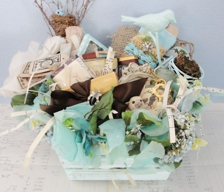 Pretty #easter #basket for adult girls :-D