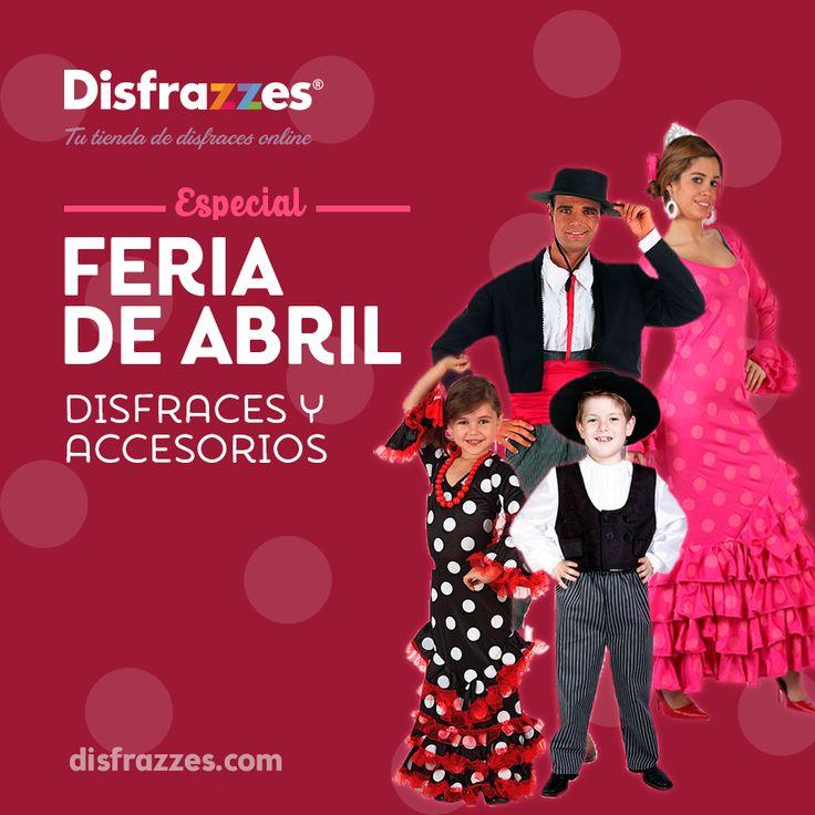 Nos encantan los trajes andaluces, y por eso queremos hacerles honor con nuestros disfraces de #sevillana y de c#ordobés y sus accesorios #feriadeabril #sevilla #andalucía #disfraz #accesorios #disfraces